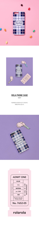 로라로라(ROLAROLA) (PC-18102)ROLA SCOUT PHONE CASE NAVY