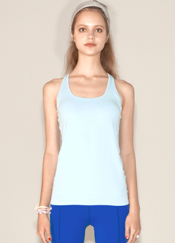 Y-BACK TANK TOP_LIGHT BLUE