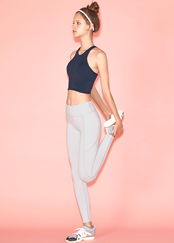 3D CUTTING LINE LEGGINGS_LIGHT GREY