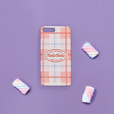 (PC-18102)ROLA PHONE CASE PINK