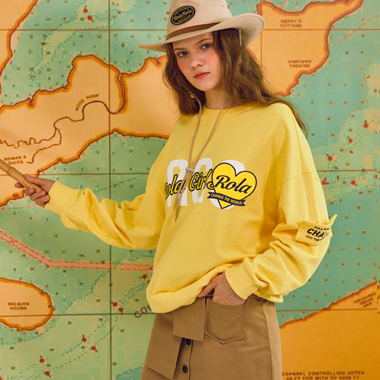 (TS-18102)ROLA RGS SWEATSHIRT YELLOW