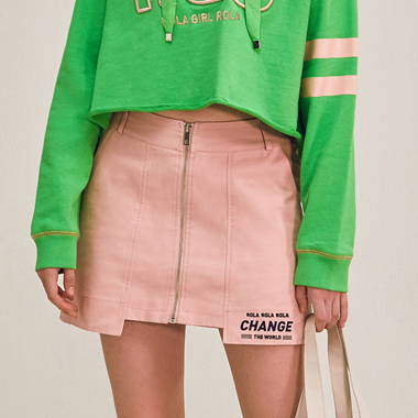 (SK-18301)ROLA SCOUT LOGO POINT SKIRT PINK