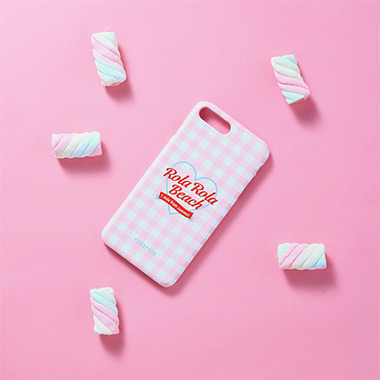 (PC-18301)ROLA BEACH PHONE CASE PINK