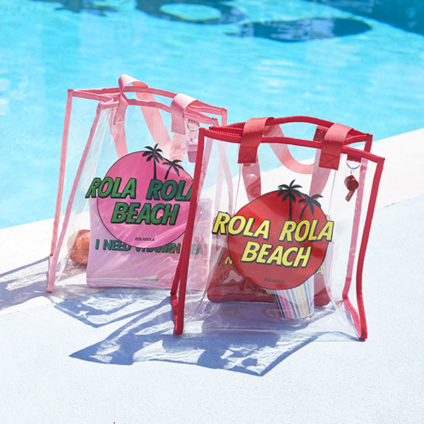 (BG-18303)ROLA BEACH BAG RED