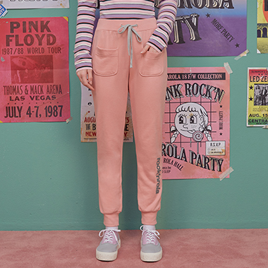 (PT-18740) TRAINING PANTS PINK