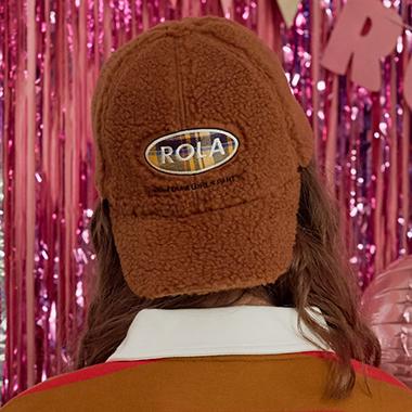 (CH-18701) ROLA BOUCLE CAP CAMEL