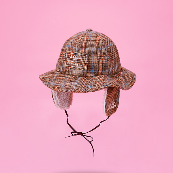 (CH-18704) ROLA EARMUFFS BUCKET HAT BROWN