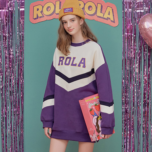 (OP-18721) ROLA COLOR BLOCK MTM ONE-PIECE PURPLE