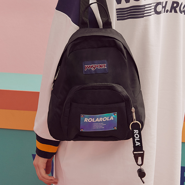 (BG-19102) ROLAROLA X JANSPORT HALF PINT BLACK