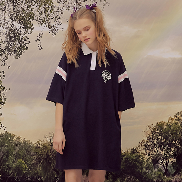 (OP-19318) REPORTING COLLAR ONE-PIECE NAVY