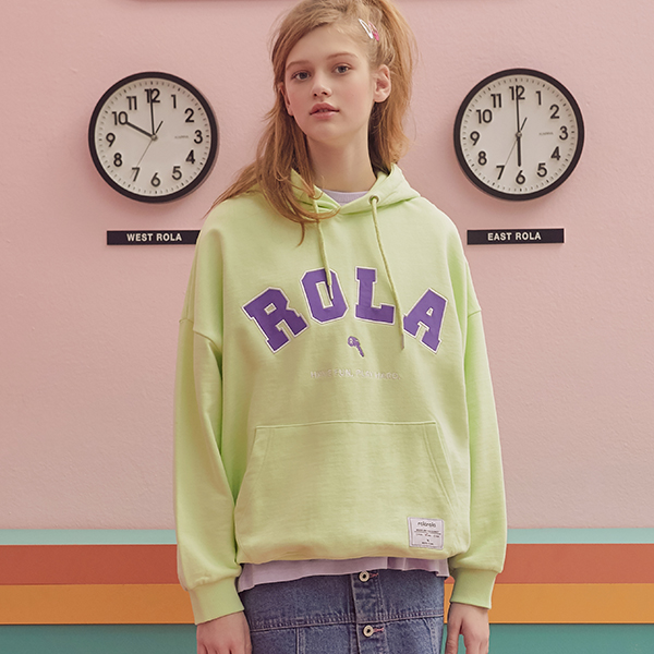 (HD-19101) ROLA HOOD T-SHIRT LIME