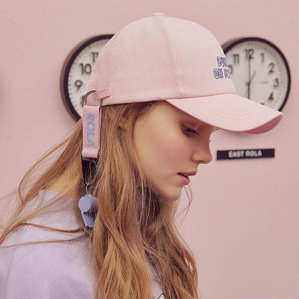 (CH-19101) ROLA WHISTLE CAP PINK