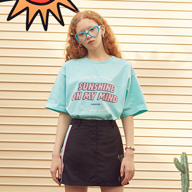 (TS-19303) SUNSHINE T-SHIRT MINT