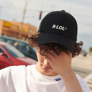 (CH-19308) R:LOL LOGO CAP BLACK