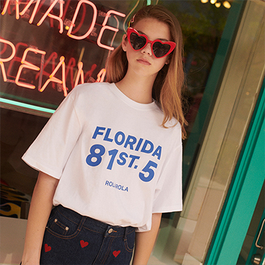 (TS-19332) FLORIDA T-SHIRT WHITE