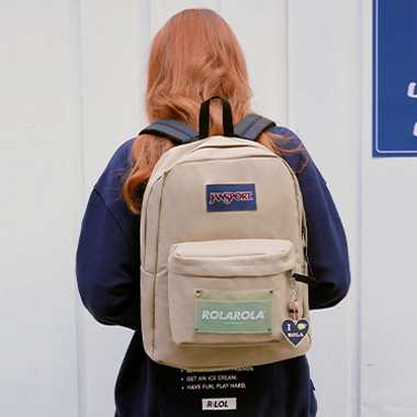 (BG-20101) ROLAROLA X JANSPORT SUPERBREAK FIELD TAN