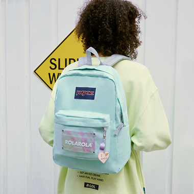 (BG-20101) ROLAROLA X JANSPORT SUPERBREAK BROOK GREEN