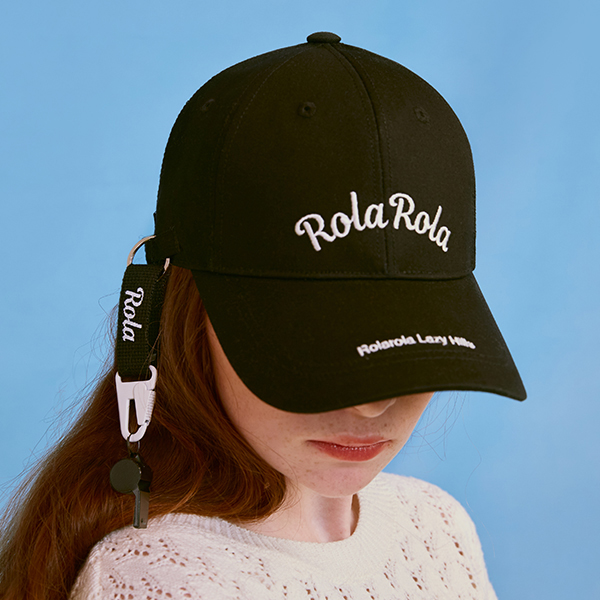 (CH-20102) ROLA WHISTLE CAP BLACK