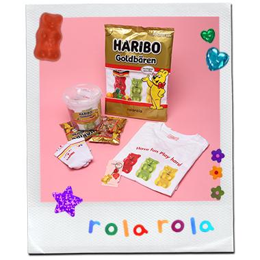 (LV-20339) ROLAROLA X HARIBO SET MULTI