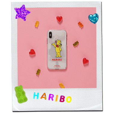 (PC-20334) ROLAROLA X HARIBO JELLY PHONE CASE YELLOW