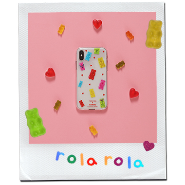 (PC-20332) ROLAROLA X HARIBO JELLY PHONE CASE MULTI