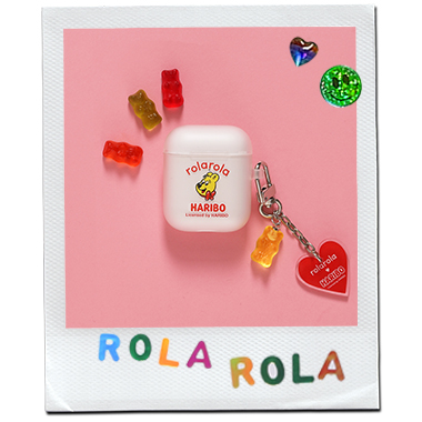 (LV-20335) ROLAROLA X HARIBO AIRPODS CASE YELLOW