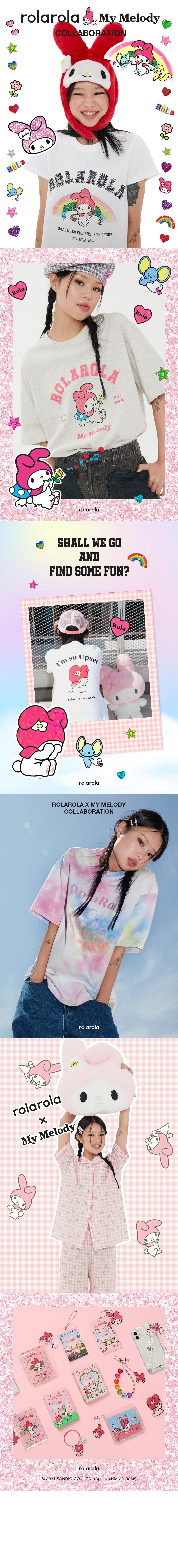 로라로라(ROLAROLA) (LV-21330) ROLAROLA X MY MELODY COLLECT PHOTO BOOK MULTI