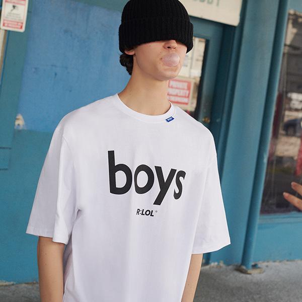 (TS-19301) R:LOL BOYS T-SHIRT WHITE