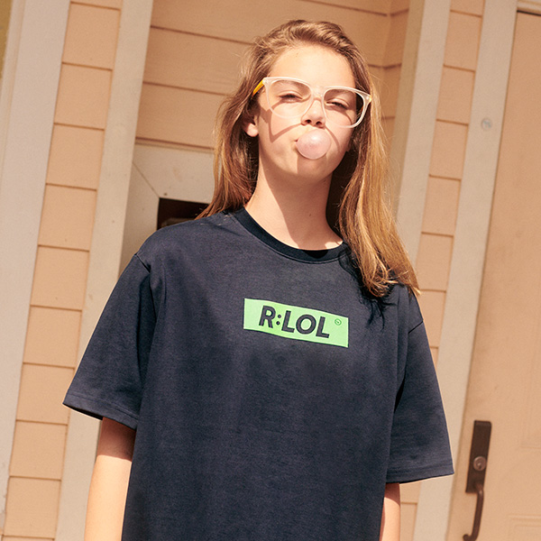 (TS-19304) R:LOL BOX T-SHIRT NAVY