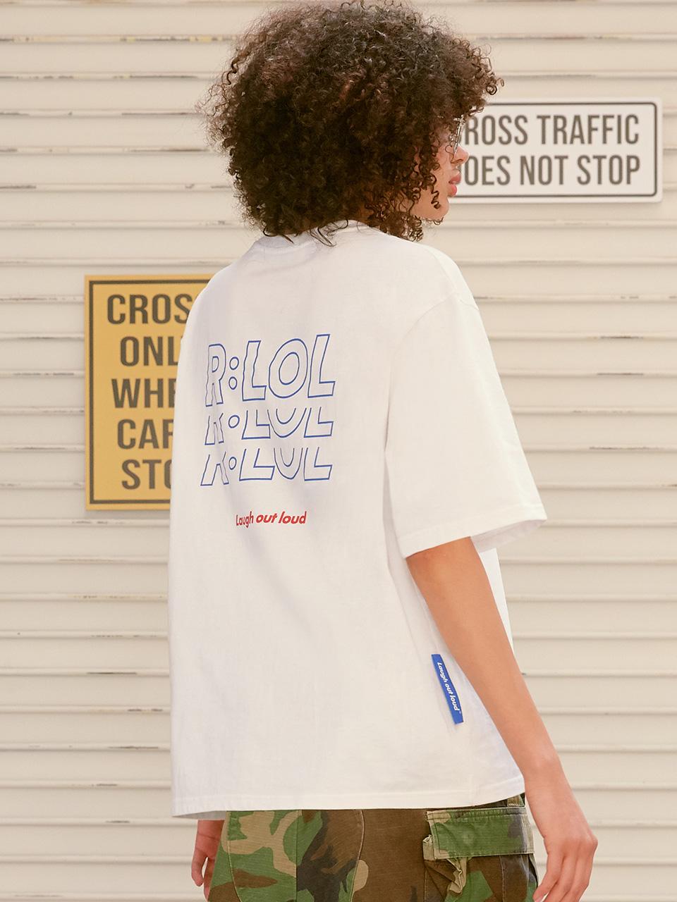 (TS-20302) R:LOL YO-YO T-SHIRT WHITE