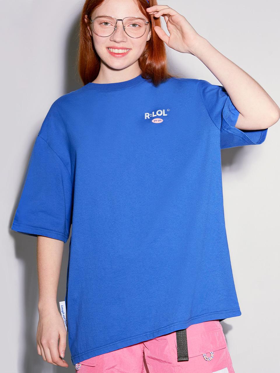 (TS-20302) R:LOL YO-YO T-SHIRT BLUE