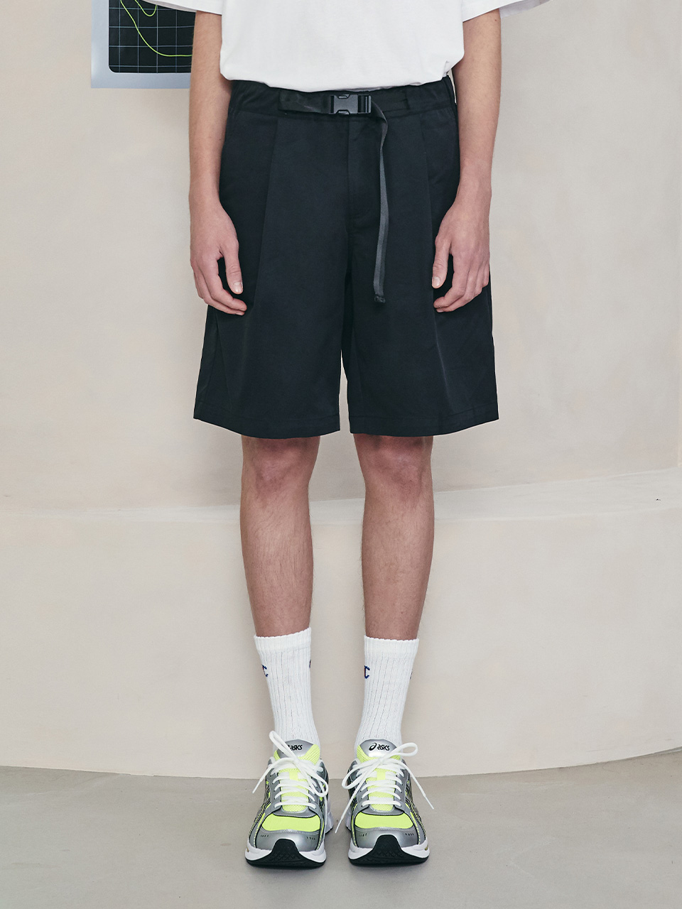 (PT-21141) R:LOL SHORT PANTS BLACK
